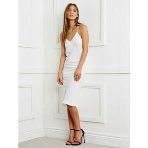 NWT Maurie + Eve White Sunrise Slip Dress 12